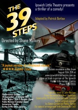 39 Steps Poster - Tickets